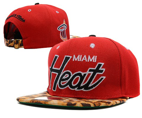 Miami Heat NBA Snapback Hat SD34