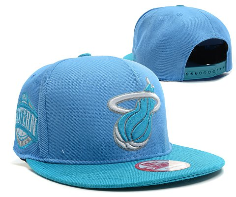Miami Heat NBA Snapback Hat SD39