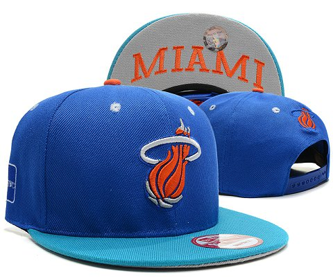 Miami Heat NBA Snapback Hat SD40
