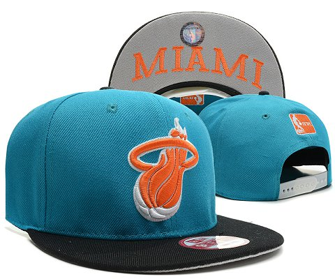 Miami Heat NBA Snapback Hat SD41