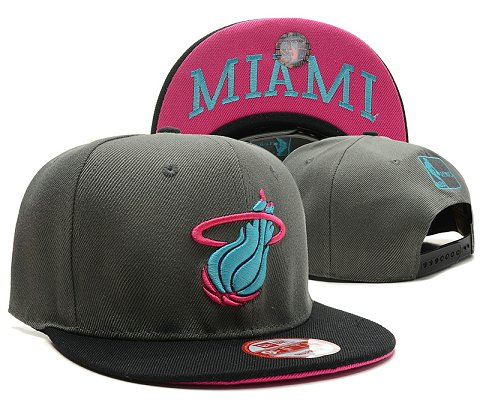 Miami Heat NBA Snapback Hat SD43