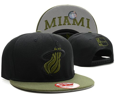 Miami Heat NBA Snapback Hat SD44