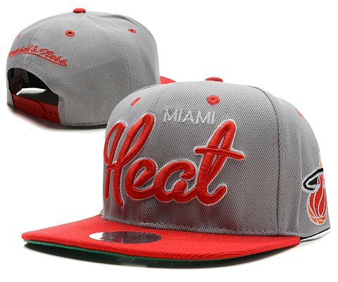 Miami Heat NBA Snapback Hat SD46