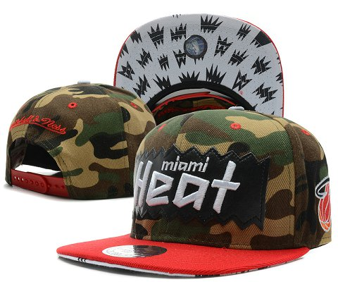 Miami Heat NBA Snapback Hat SD47