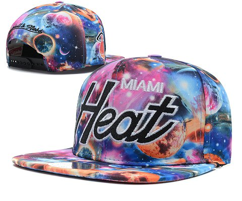 Miami Heat NBA Snapback Hat SD49