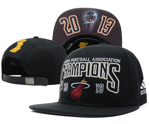 Miami Heat NBA Snapback Hat SD51