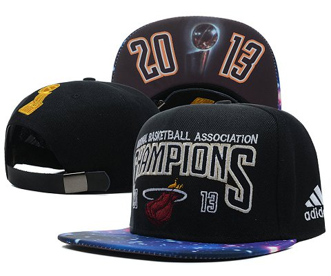 Miami Heat NBA Snapback Hat SD54