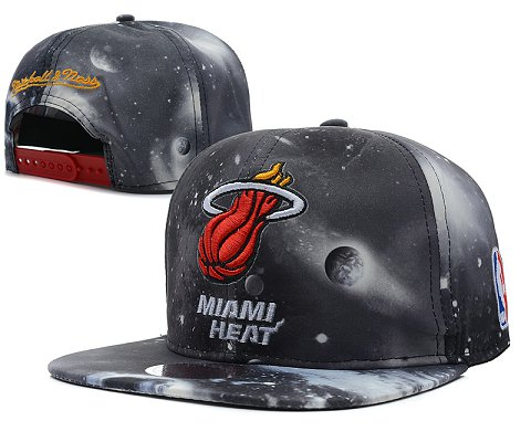Miami Heat NBA Snapback Hat SD56