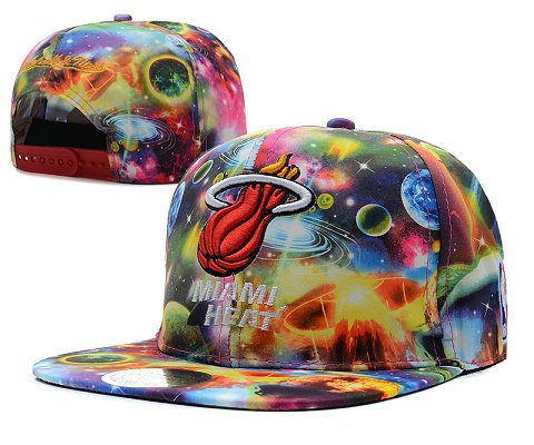 Miami Heat NBA Snapback Hat SD58