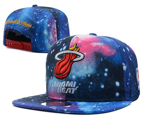 Miami Heat NBA Snapback Hat SD59