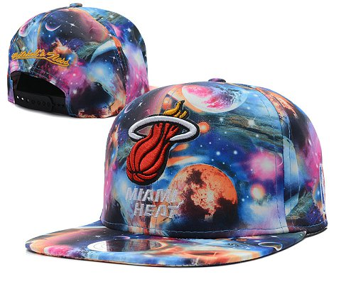 Miami Heat NBA Snapback Hat SD60