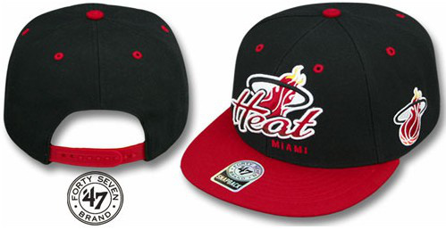 Miami Heat NBA Snapback Hat Sf02