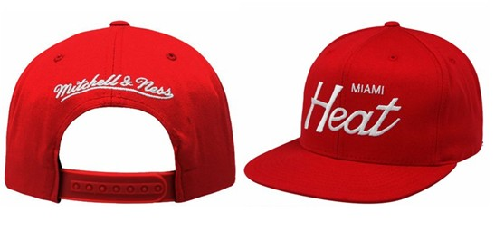 Miami Heat NBA Snapback Hat Sf03