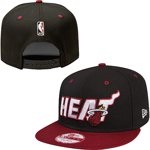 Miami Heat NBA Snapback Hat Sf06