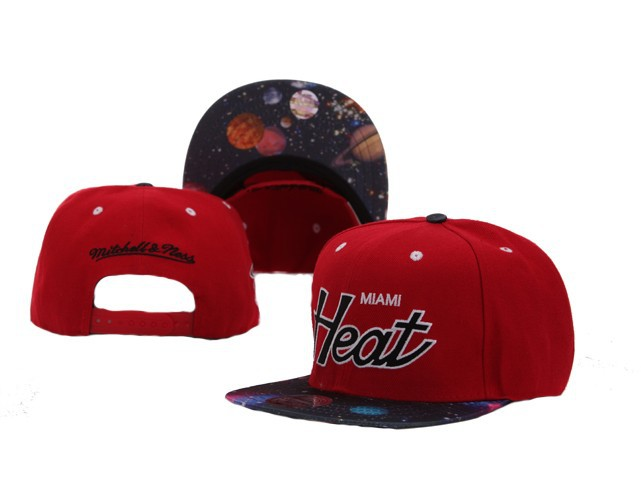 Miami Heat NBA Snapback Hat Sf08