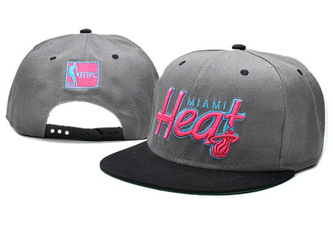 Miami Heat NBA Snapback Hat TY015
