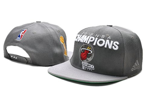 Miami Heat NBA Snapback Hat TY032