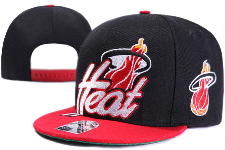 Miami Heat NBA Snapback Hat XDF020