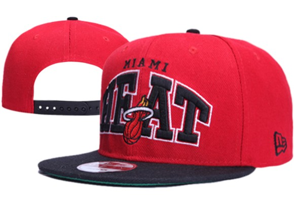 Miami Heat NBA Snapback Hat XDF033