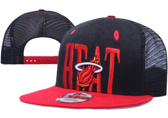 Miami Heat NBA Snapback Hat XDF038