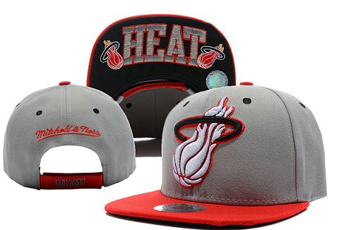 Miami Heat NBA Snapback Hat XDF096