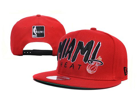Miami Heat NBA Snapback Hat XDF117