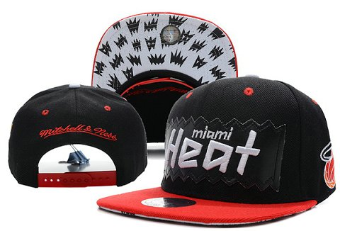 Miami Heat NBA Snapback Hat XDF184