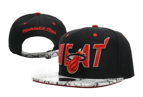 Miami Heat NBA Snapback Hat XDF235