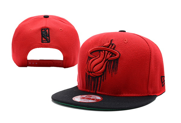 Miami Heat NBA Snapback Hat XDF247