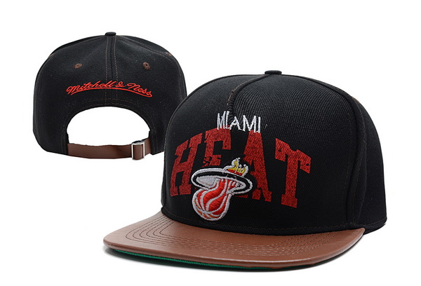 Miami Heat NBA Snapback Hat XDF249