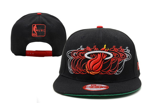 Miami Heat NBA Snapback Hat XDF251