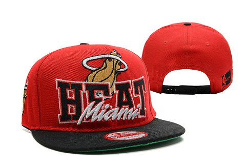 Miami Heat NBA Snapback Hat XDF278
