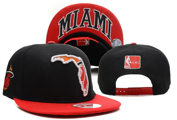 Miami Heat NBA Snapback Hat XDF314