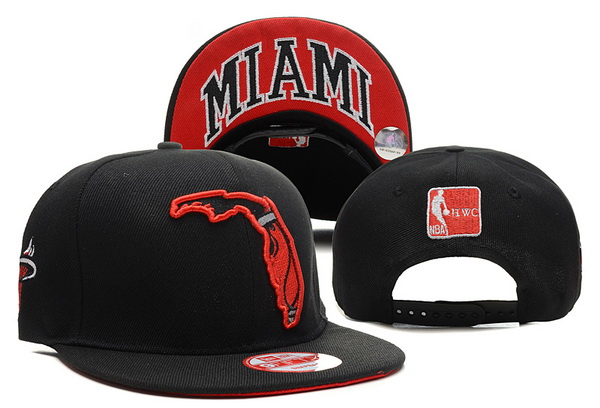 Miami Heat NBA Snapback Hat XDF315