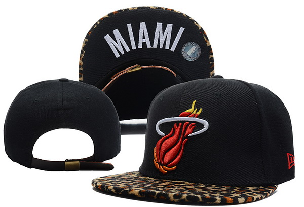 Miami Heat NBA Snapback Hat XDF324