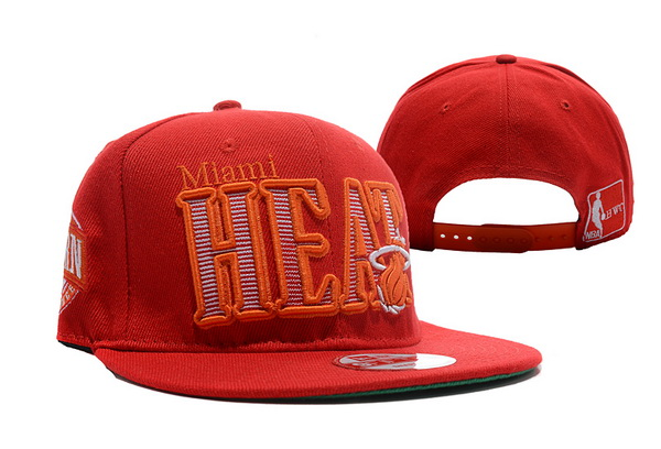 Miami Heat NBA Snapback Hat XDF337