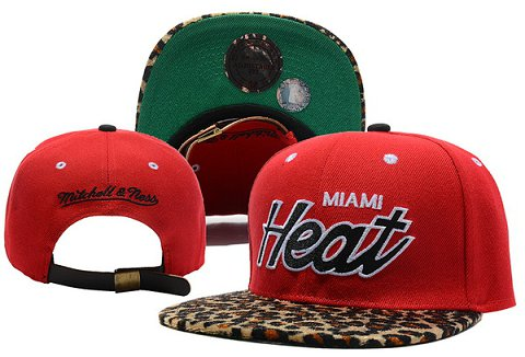 Miami Heat NBA Snapback Hat XDF340