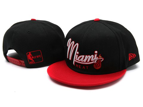 Miami Heat NBA Snapback Hat YS009
