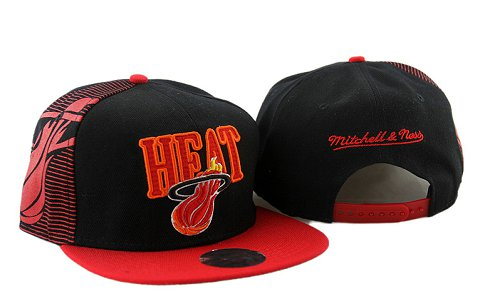 Miami Heat NBA Snapback Hat YS082