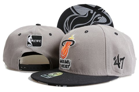 Miami Heat NBA Snapback Hat YS086