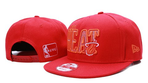 Miami Heat NBA Snapback Hat YS102