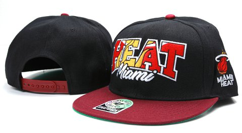 Miami Heat NBA Snapback Hat YS114