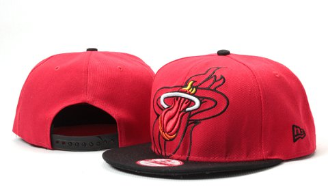 Miami Heat NBA Snapback Hat YS125
