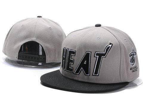 Miami Heat NBA Snapback Hat YS164