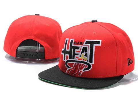 Miami Heat NBA Snapback Hat YS166
