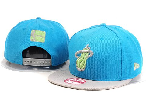 Miami Heat NBA Snapback Hat YS212