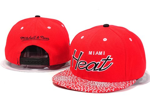 Miami Heat NBA Snapback Hat YS214