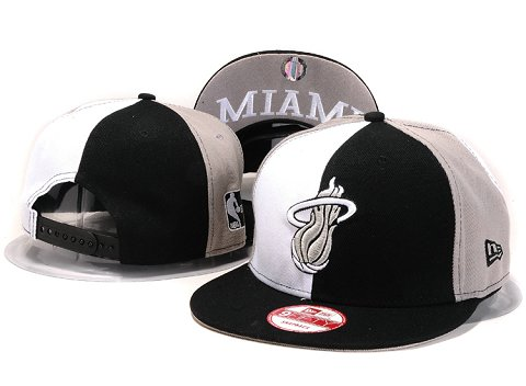 Miami Heat NBA Snapback Hat YS227