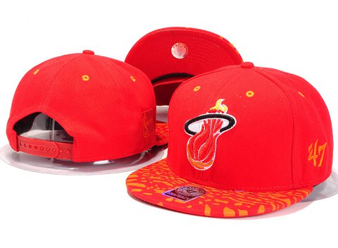 Miami Heat NBA Snapback Hat YS229