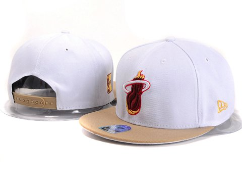 Miami Heat NBA Snapback Hat YS231